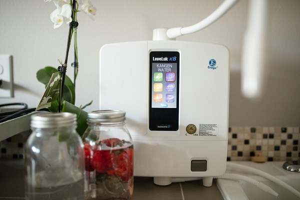 Chỉ có máy lọc nước từ tập đoàn Eganic mới tạo ra nước Kangen